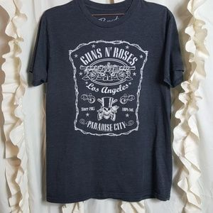 Guns N' Roses LA Paradise City Bravado graphic tee
